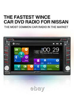 Pumpkin Double DIN Car Stereo Radio DVD CD GPS Sat Nav For Nissan Qashqai Navara
