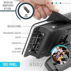 Pyle Dual Car Headrest Mount DVD Player System 9.4 + Wireless Headphones