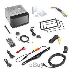 Pyle PLDNANDVR695 Android Car Stereo Double Din DVR Dash Cam Backup Kit