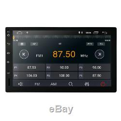 Quad Core 7 Android 8.1 2 DIN Car Radio Stereo GPS Player Mirror DTV OBD DAB+