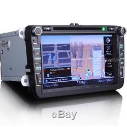 RADIO GPS Car DVD Player CD 3G For VW PASSAT GOLF MK5 SEAT ALTEA TOLEDO EOS 8015