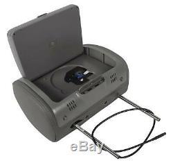 Rockville RDP931-GR 9 Grey Car DVD/HDMI Headrest Monitors+2 Wireless Headsets