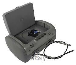 Rockville RTSVD961-GR 9 Gray Touchscreen Dual DVD/HDMI Car Headrest Monitors