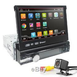 Single 1Din 7 Android 8.1 Car Stereo Radio GPS Navi Player 4G Wifi OBD2 DAB+