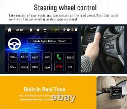 Single 1Din Car Radio Touchscreen GPS SAT NAV Bluetooth CD DVD Player Stereo DAB