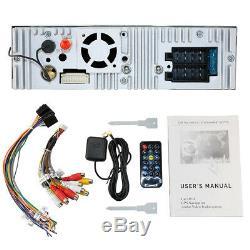 Single 1 DIN 7 HD Car CD DVD Player GPS SAT NAV Bluetooth Stereo Radio RDS DAB+