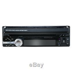 Single One DIN 7 inch HD Car CD DVD Player GPS SAT NAV Bluetooth Stereo Radio UK