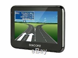 Snooper S2700 Truckmate Pro GPS Truck HGV & Car Sat Nav 4.3 FREE UK & EU MAPS