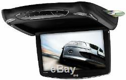 Sound Storm S13.3BGT Car Roof-Mount DVD Player â 13.3 Inch Flip-Down LCD