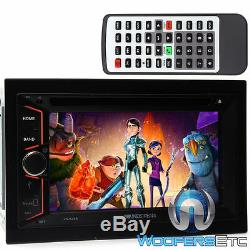 Soundstream Vr-624b Double Din Car Stereo 6.2 Tv CD Mp3 DVD Usb Sd Bluetooth