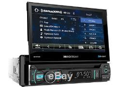 Soundstream Vr-75xb Car 1 Din DVD CD Stereo Bluetooth 7 Monitor Sirius XM Ready