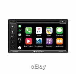 Soundstream Vrcp-65 6.2 CD DVD Mp3 Bluetooth Apple Car Play Sirius XM Stereo