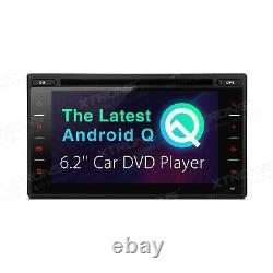 TCD601 6.2 inch Android 10 Navigation System Double Din Car DVD Player Custom