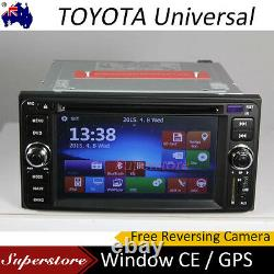 TOYOTA GPS CAR DVD Player Stereo HIACE RAV4 Landcruiser PRADO Camry 86 HILUX