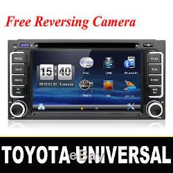 Toyota Car Stereo DVD Player GPS Sat Nav BT RDS USB Corolla Prado RAV4 MR2 Yaris