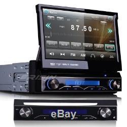 UK Stereo 7 1Din Car DVD CD Player Stereo Radio GPS Sat Nav Headunit BT 1088CU