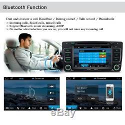 UK WTY Car GPS sat nav Navigation DVD Player Stereo For SKODA OCTAVIA Bluetooth