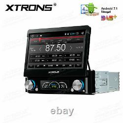 Universal 7 Single DIN Android 7.1 Car DVD Stereo GPS Radio Player Head Unit