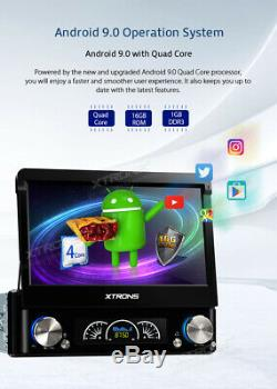 Universal Android 9.0 Single DIN 7 Car DVD Player Radio Stereo GPS Sat Nav DAB+