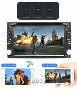 Universal GPS Android 10.0 Double 2 Din Car Stereo DVD Player Head Unit DAB+32GB