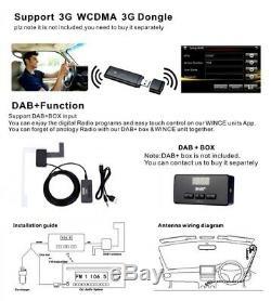 VW Golf MK5 MK6 Passat Touran Tiguan 7Car GPS Stereo SATNAV DVD Player + Camera