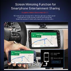 VW Golf MK5/MK6 SKODA SEAT LEON 8Car DVD Player Sat-Nav GPS Bluetooth RADIO 3G