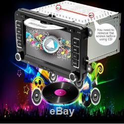 VW Passat Golf Transporter T5 Car GPS Stereo Radio SAT NAV DVD Player + Camera