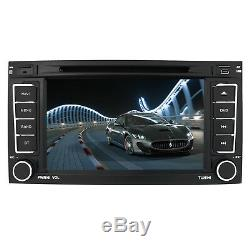 VW Touareg Double DIN Car DVD Player Stereo Radio GPS Navigation Bluetooth RDS