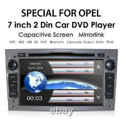 Vauxhall Opel Vivaro/Astra H/Corsa Car Stereo DVD Player GPS Sat Nav Radio Grey