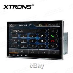 XTRONS 10.1 Touch Screen Double 2 DIN Car DVD Player Radio Stereo GPS Sat Nav