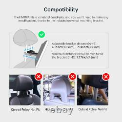 XTRONS 11.6 Android 10 8-Core Touch Screen Car Headrest Monitor Player Wifi USB