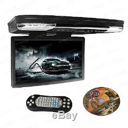 XTRONS 15.6 Car DVD CD Player Overhead Roof Mounted 1080P HDMI Video Slim Games
