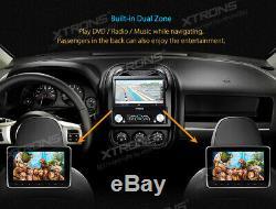 XTRONS 1 DIN 7 Car DVD Player Bluetooth Stereo DAB GPS Sat Nav Touch Screen USB
