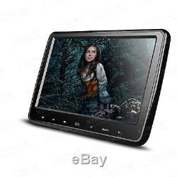 XTRONS 2X 10.1 Car Headrest DVD Player Game Digital Touch Button Monitors HDMI