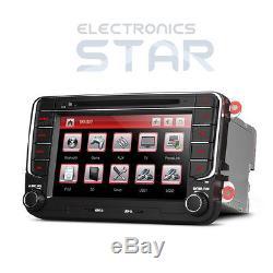 XTRONS 2 DIN Car Stereo Head Unit 7 DVD Player GPS Sat Nav VW PASSAT/SKODA/SEAT