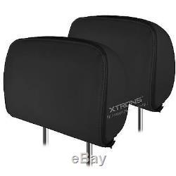 XTRONS 2x 9 Car Headrest Pillow DVD Player Games Dual Screens Monitor HDMI UK