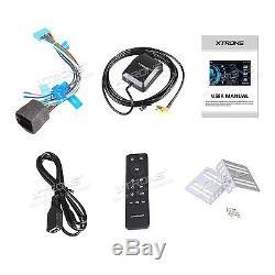 XTRONS 6.95 Double DIN Touch Screen Car Stereo Sat Nav DVD Player GPS Bluetooth