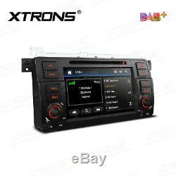 XTRONS 7 Car Stereo DVD Player GPS DAB+ Radio Head Unit for BMW E46 Rover MG ZT