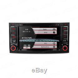 XTRONS 7 Dash Car Radio Stereo DVD Player GPS SAT NAV For VW Touareg 2004-2011