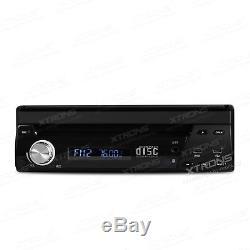 XTRONS 7 Single 1 DIN Car Stereo Radio Sat Nav DVD Player GPS DVB-T Digital TV