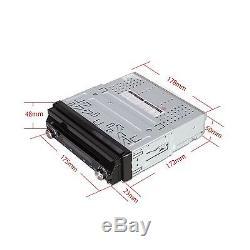 XTRONS 7 Touch Screen 1 Din Car DVD Player GPS Sat Nav Radio Bluetooth Stereo