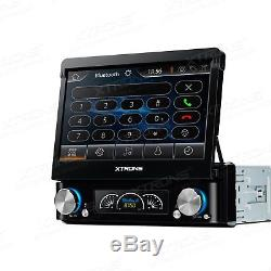 XTRONS 7 Touch Screen In Dash Single 1 DIN Car Stereo Radio DVD Player GPS DAB+