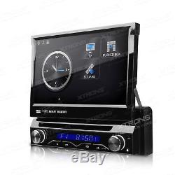 XTRONS 7 Touch Screen Single DIN Car Stereo Sat Nav CD DVD Player GPS Bluetooth