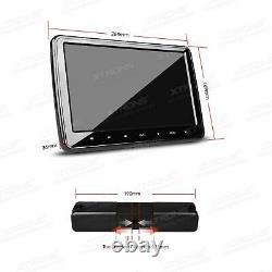 XTRONS Car Rear Seat Headrest DVD Player 10.1 Digital Screen Monitor HDMI Games