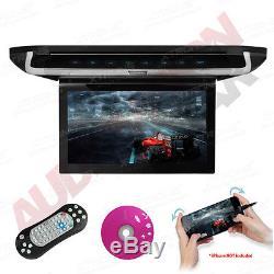 XTRONS Car Roof Mounted Flip Drop Down 10 CD DVD Player Games FM/IR-TX HDMI