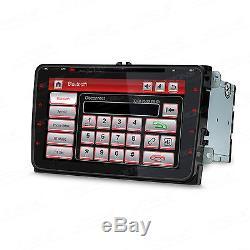 XTRONS Car Stereo Radio 8 HD DVD Player GPS Sat Nav VW PASSAT/SKODA Fabia/SEAT