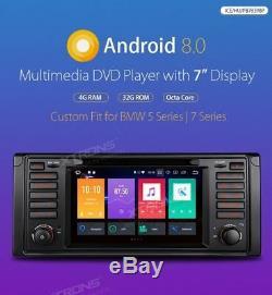 XTRONS PB7839BP ANDROID 8 AUTORADIO CAR DVD PLAYER NAVI GPS x BMW SERIE 5 E39