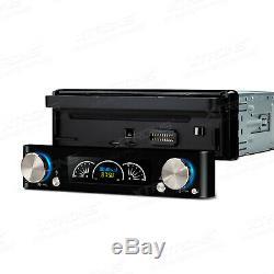 XTRONS Single DIN Dash Car Radio Stereo Touch Screen DVD Player DAB+ GPS SAT NAV