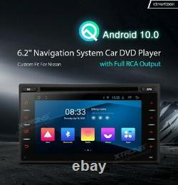 XTRONS TCD601 6.2 inch Android 10 Navigation System Double Din Car DVD Player