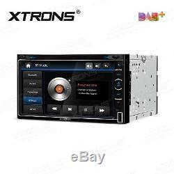 XTRONS TD799DAB Double DIN Car Head Unit DVD Player DAB+ Radio GPS SatNav Stereo